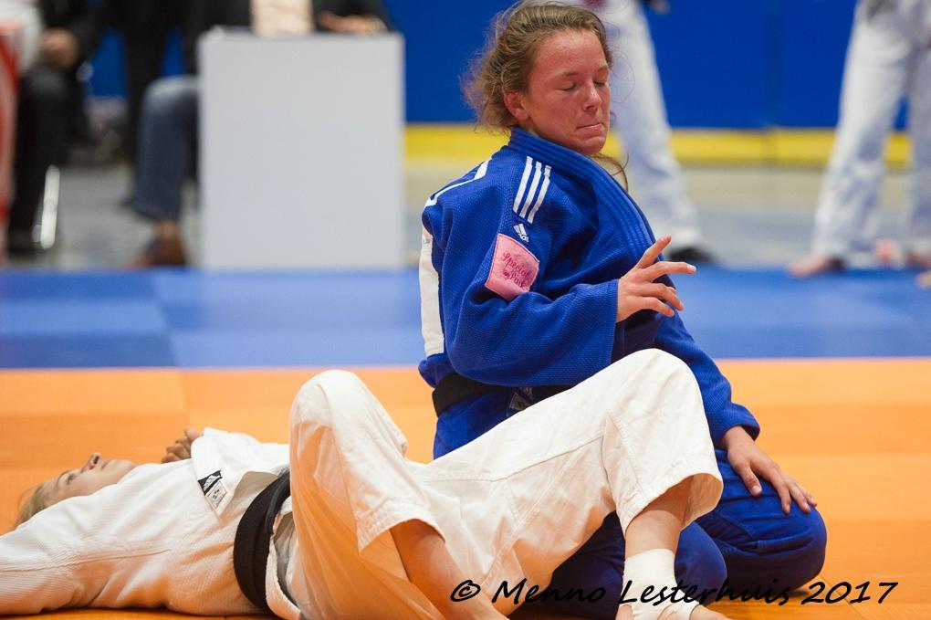 Fotoverslag NK judo voor teams (senioren)