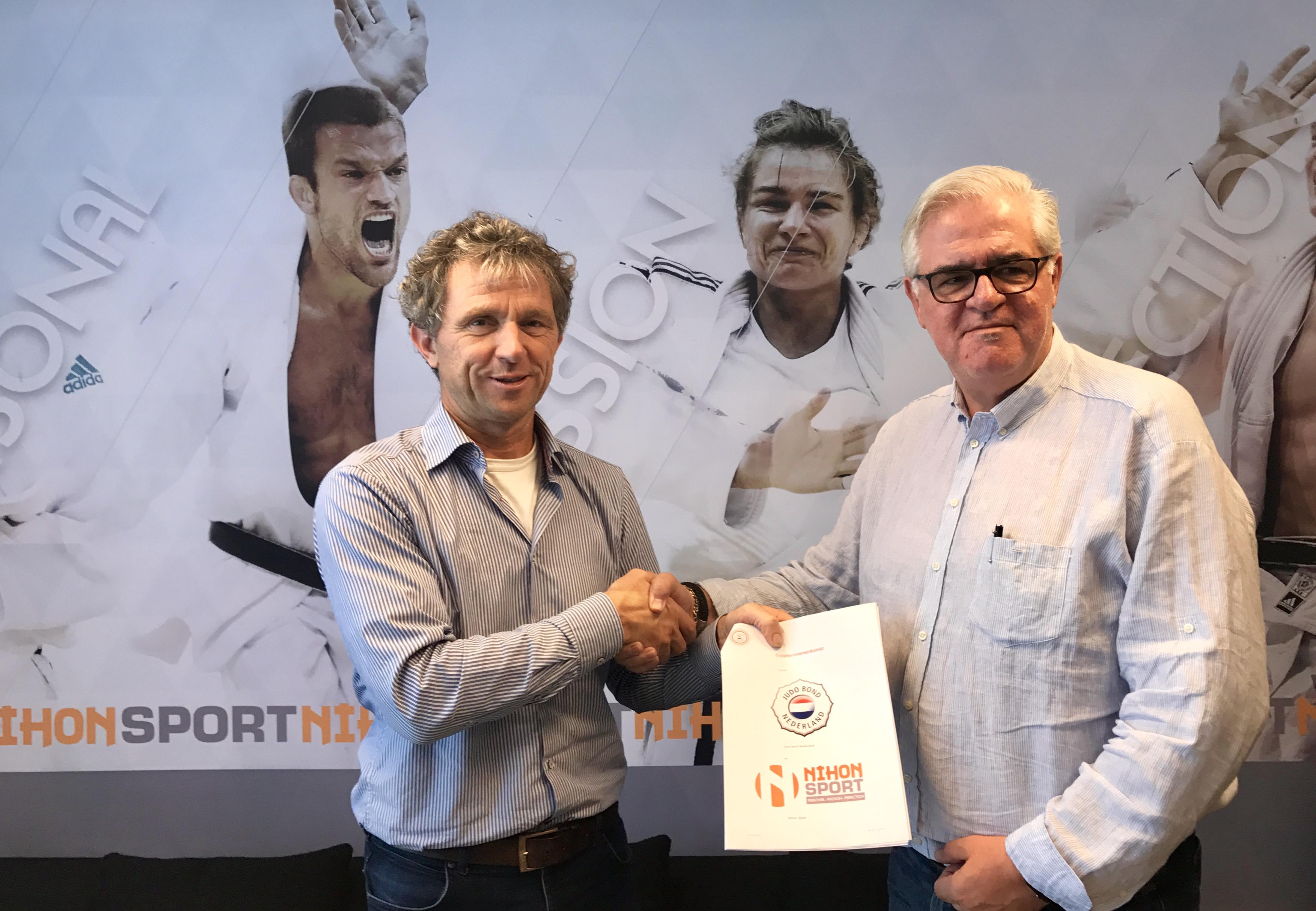 JBN en Nihon Sport ondertekenen overeenkoms