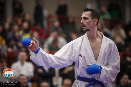 Respect voor karateka Daniel Sabanovic