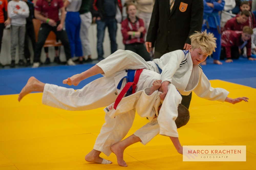 Uitgebreide fotoreportage Nederlands Kampioenschap Judo -15 2019