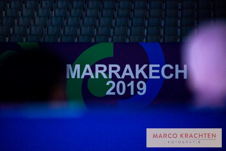 Uitgebreide fotoreportage Wereld Kampioenschap Judo u21 2019 Marrakech