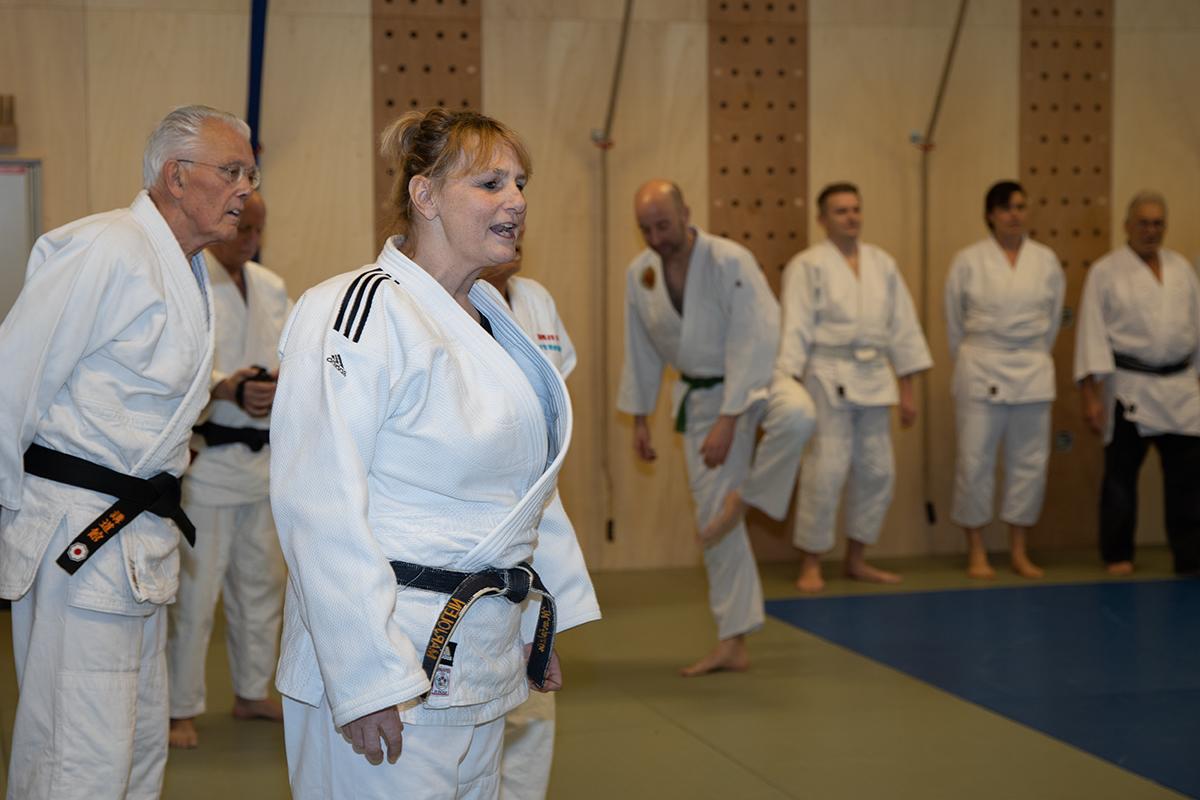 Fotoreportage Landelijke Veteranen Training bij Essink Sportcentrum
