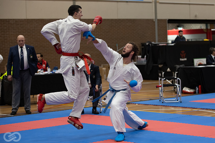 Fotoreportage NK Karate senioren 2020