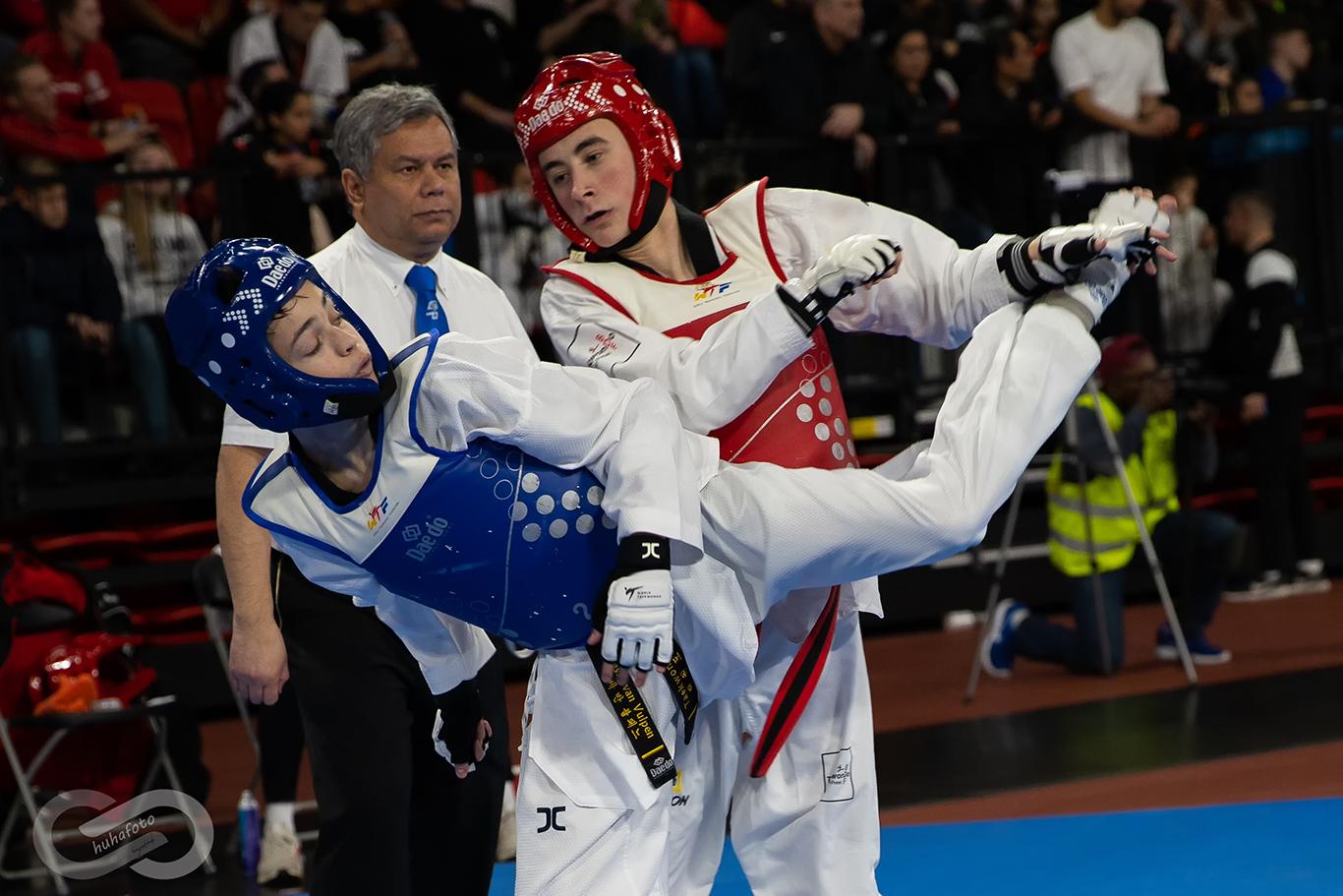 Fotoreportage Nederlandse Kampioenschappen Taekwondo 2020
