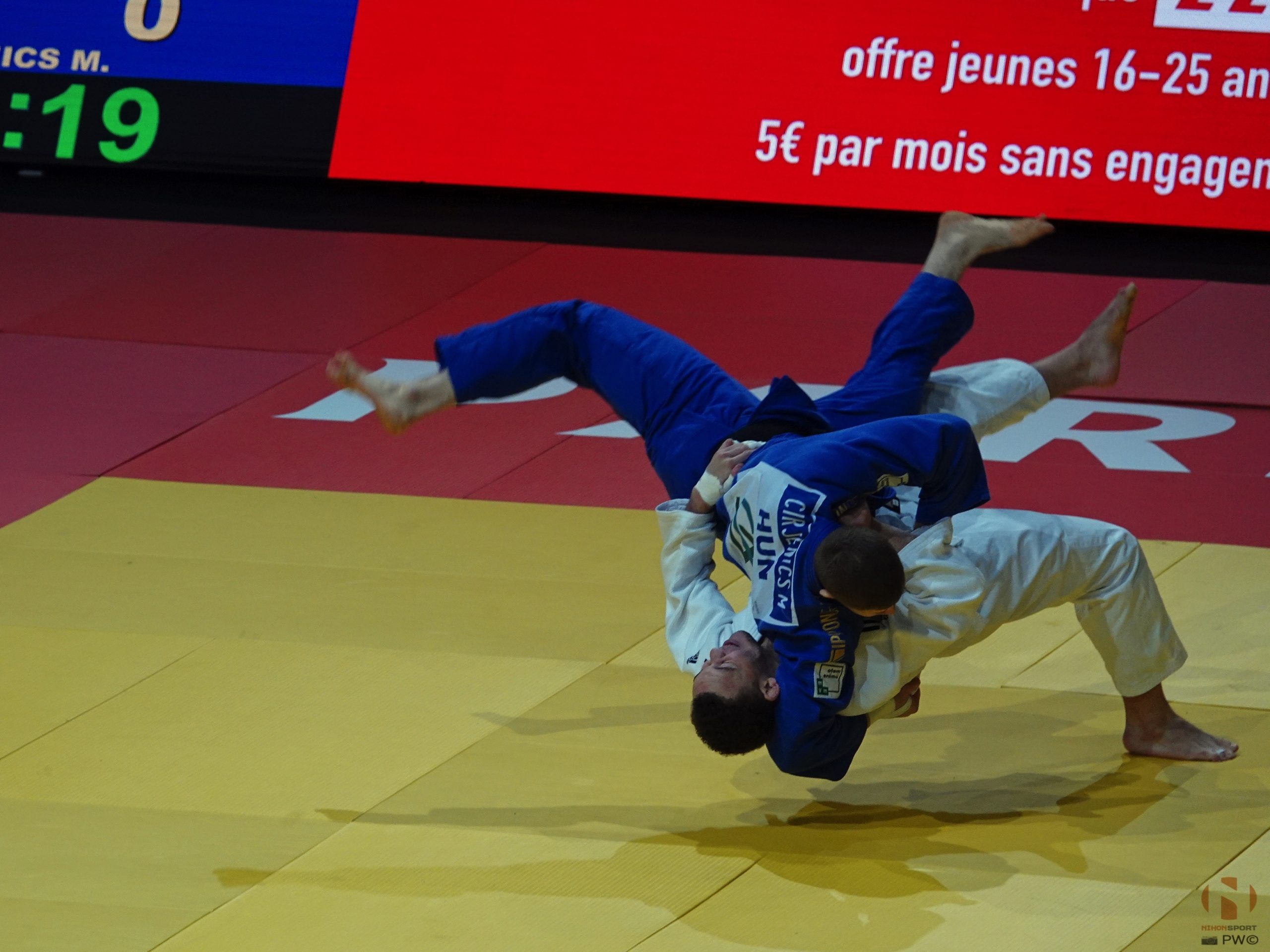 Foto's Paris Grand Slam 2020