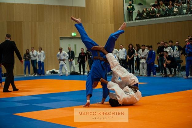 Uitgebreide fotoreportage NK Judo -18 Den Haag 2020