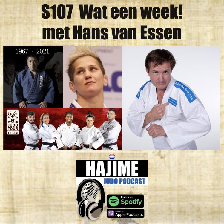 Hajime Judo Podcast 7 – Wat een week met Hans van Essen