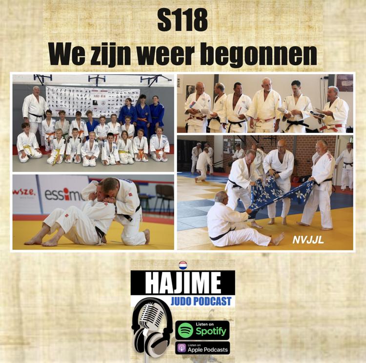 Na aflevering 15 van de Hajime Judo Podcast staan er inmiddels weer 3 nieuwe afleveringen online