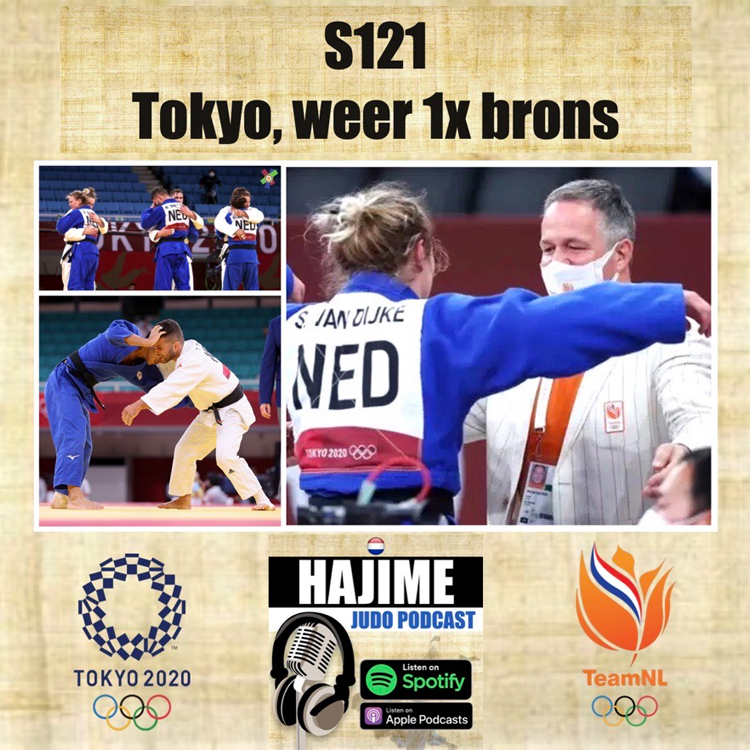Hajime Judo Podcast 21 – Podcast 21, Nabeschouwing Tokyo, weer één medaille
